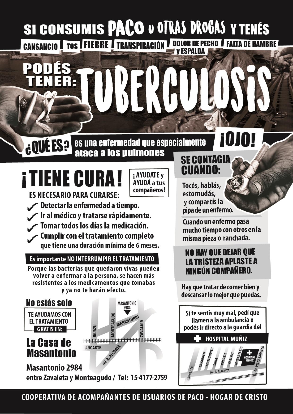 Resultado de imagen para ARGENTINA,TUBERCULOSIS Y PACO
